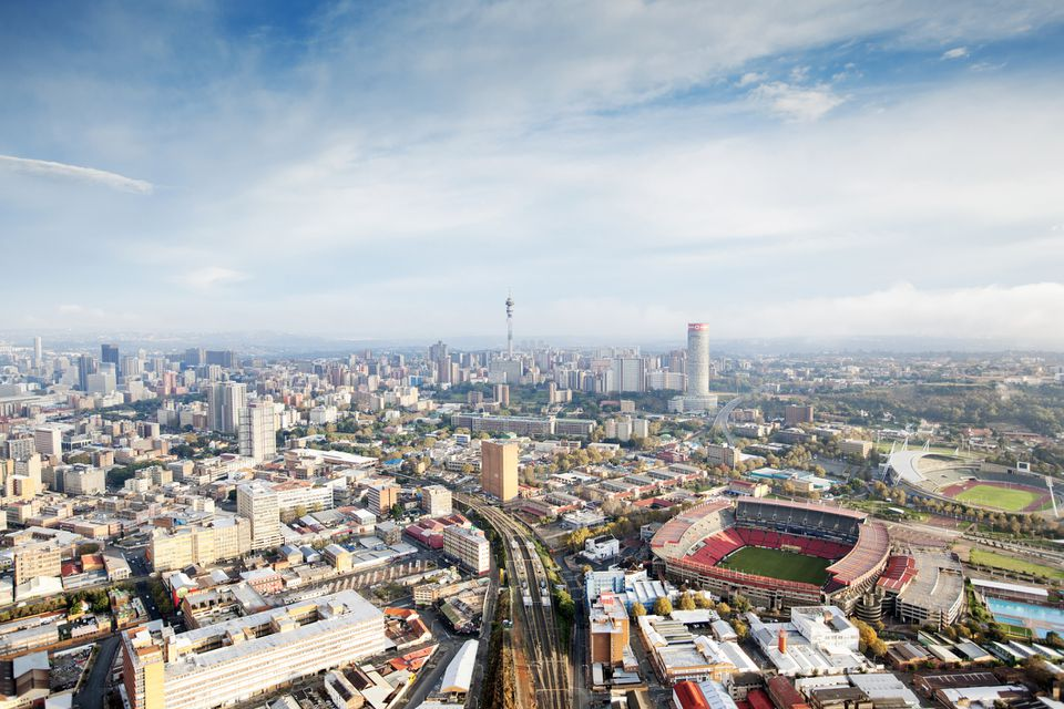 Johannesburg city center