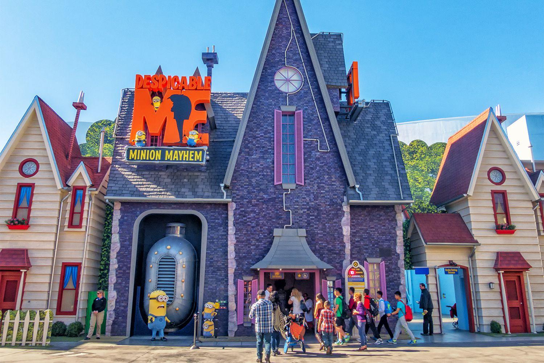 Minion Mayhem at Universal Studios Hollywood