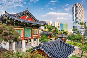 Bongeunsa Temple Seoul Gangnam, South Korea