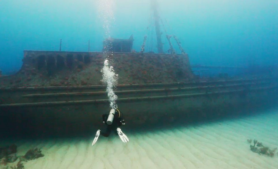 Hermes shipwreck