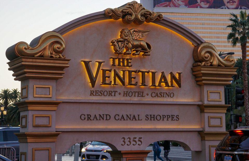 The Venetian in Las Vegas, Nevada