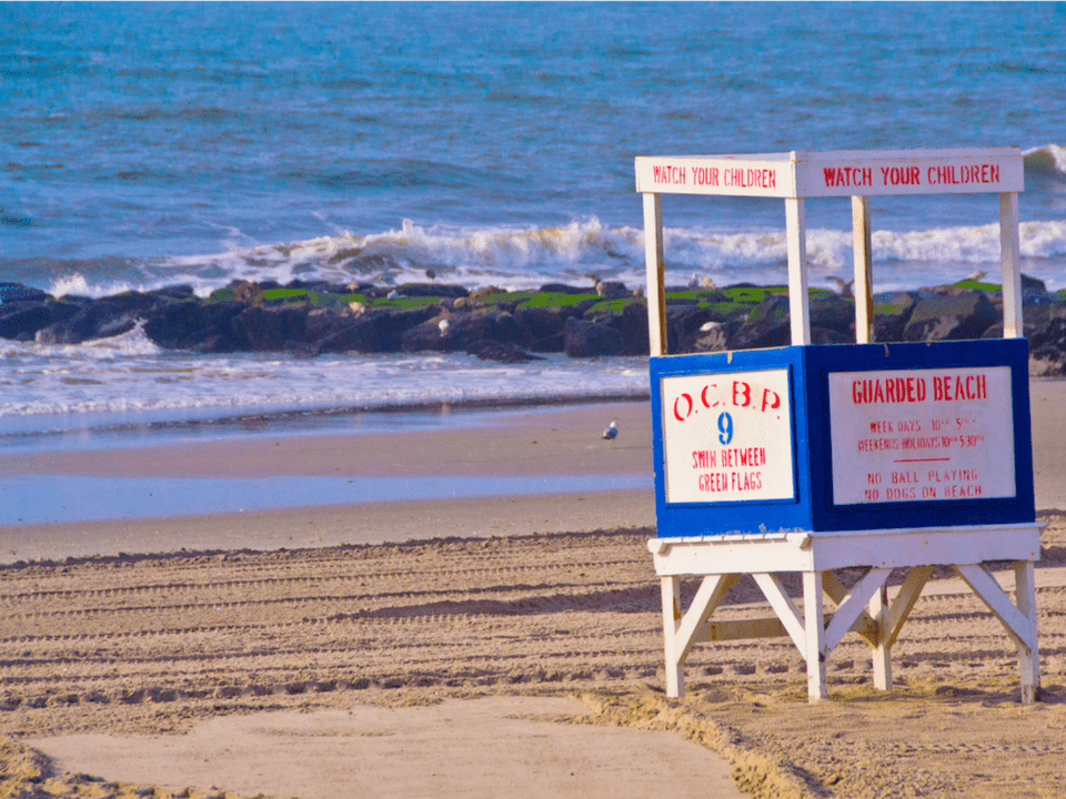 Ocean City New Jersey Lifeguard Stand