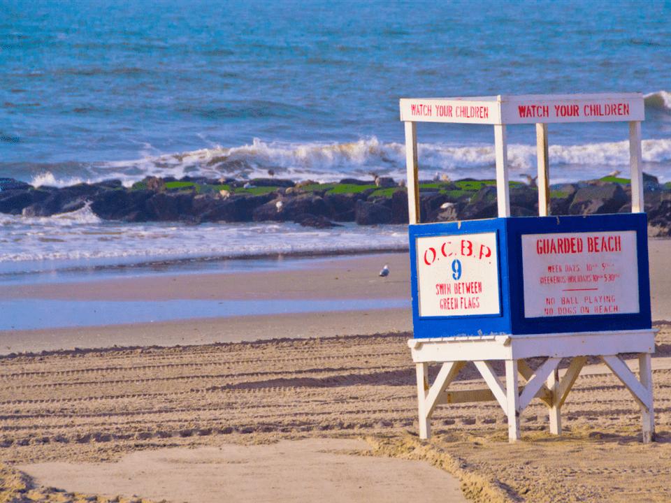 Ocean City New Jersey Lifeguard Stand