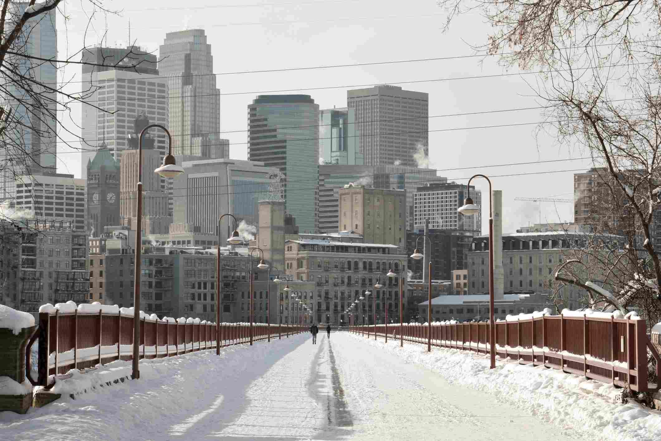 Winter in Minneapolis