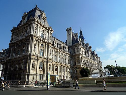 Hôtel de Ville (Paris City Hall) is one site that opens up to the public for European Heritage Days in Paris.