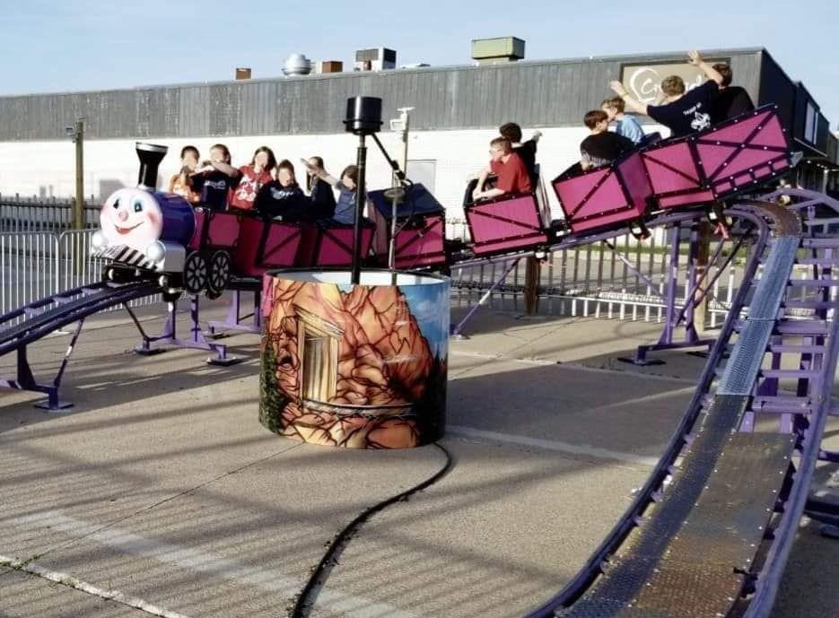 Playzone Toledo coaster Ohio