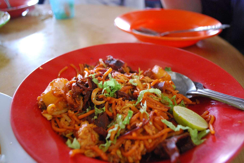 Mee Goreng at Bangkok Lane