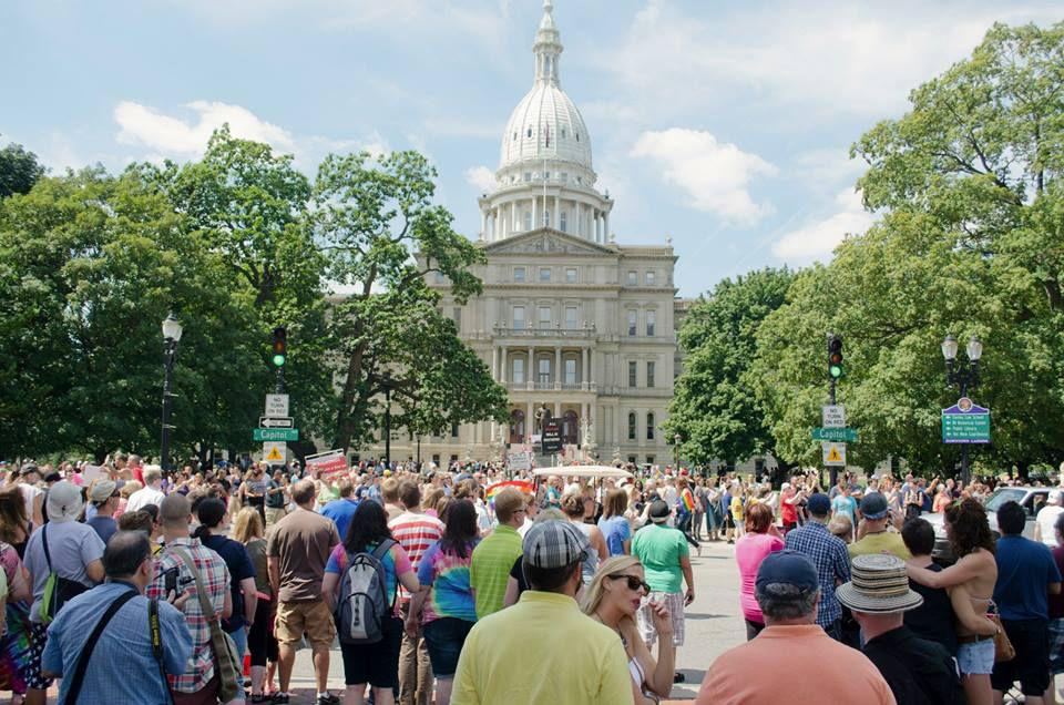 Michigan Pride in Lansing