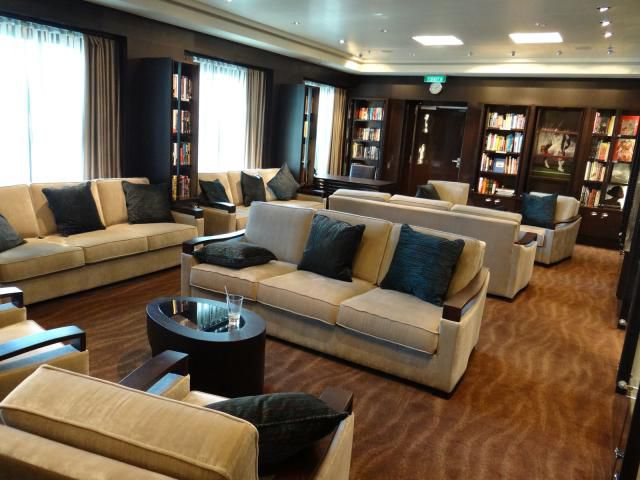 Library on the Norwegian Getaway