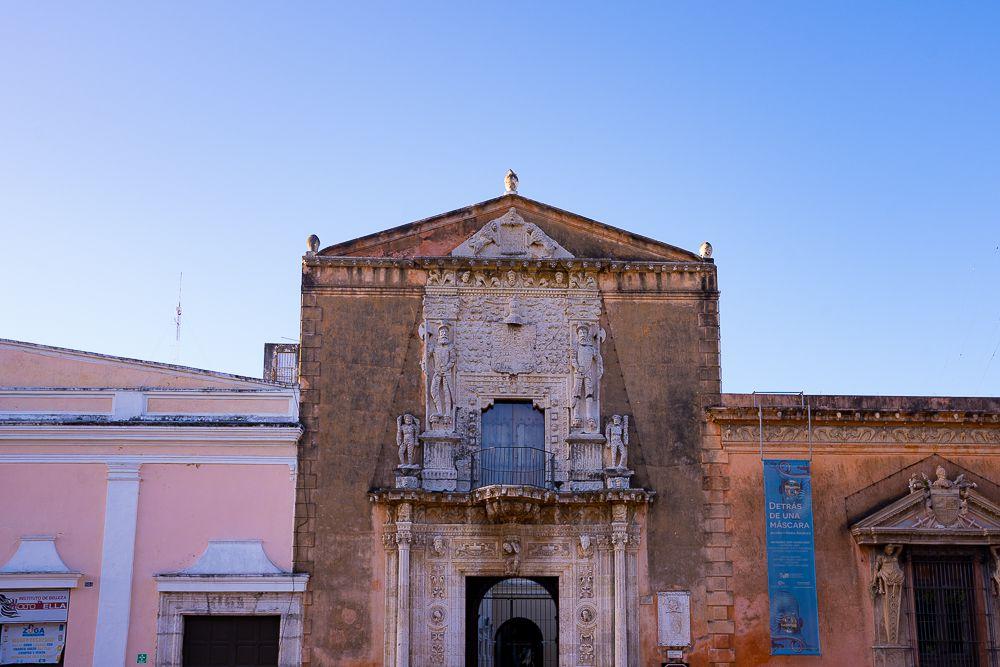 Casa de Montejo in Merida, Mexico