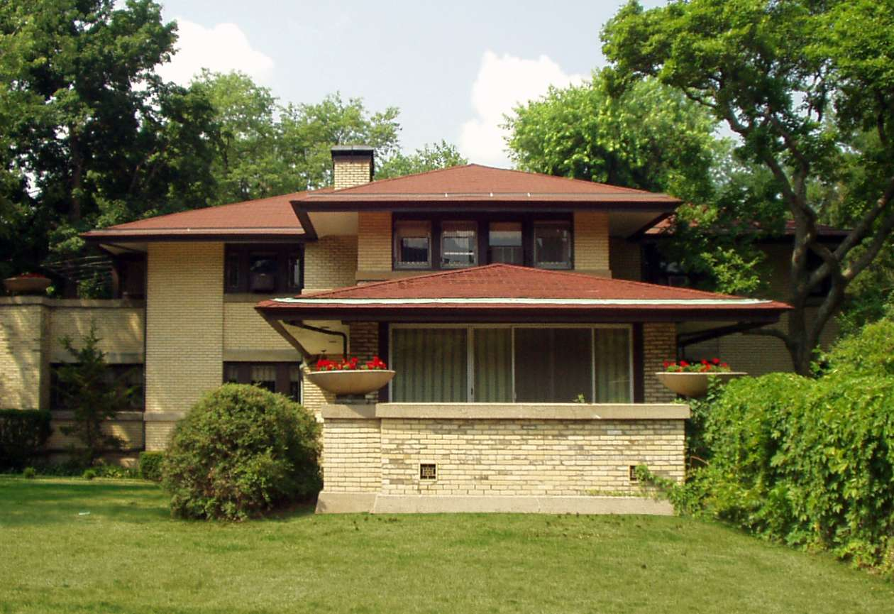 Francis W. Little House I (1902) by Frank Lloyd Wright in Peoria, Illinois