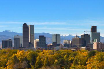 Denver Downtown Skyline, Colorado
