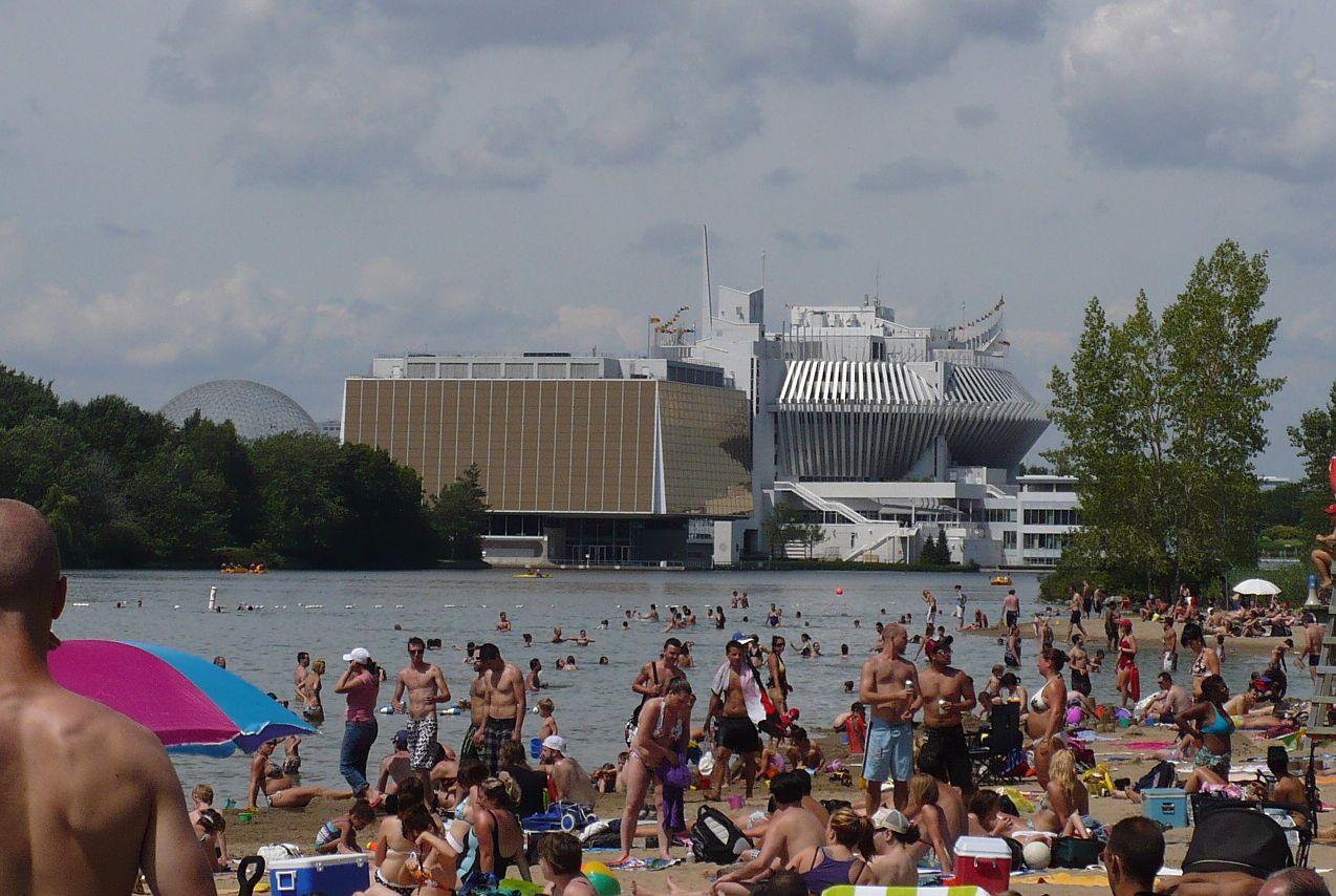 Montreal Beach Parc Jean Drapeau Review