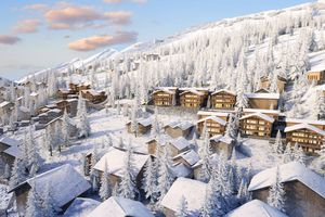 Rendering of The Ritz-Carlton ski resort in Zermatt, Switzerland