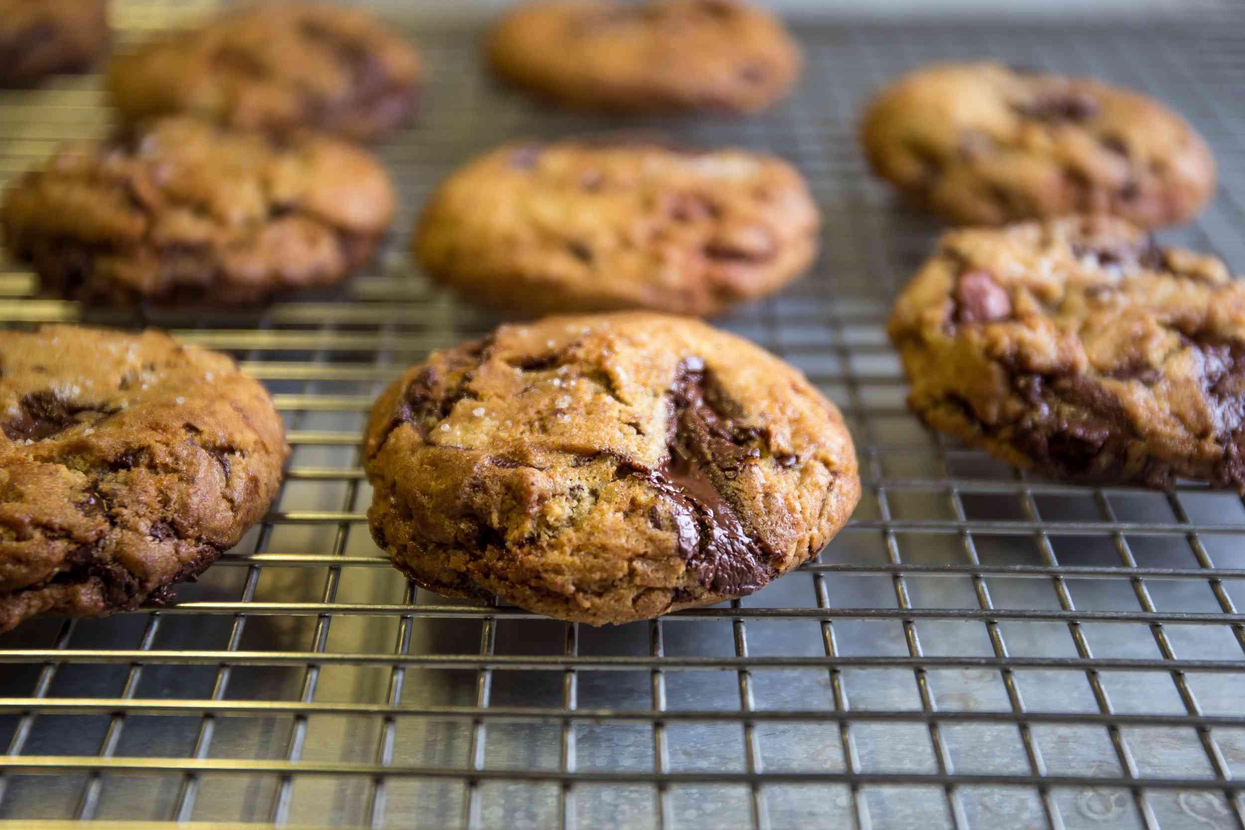 Coquine's chocolate chip cookies