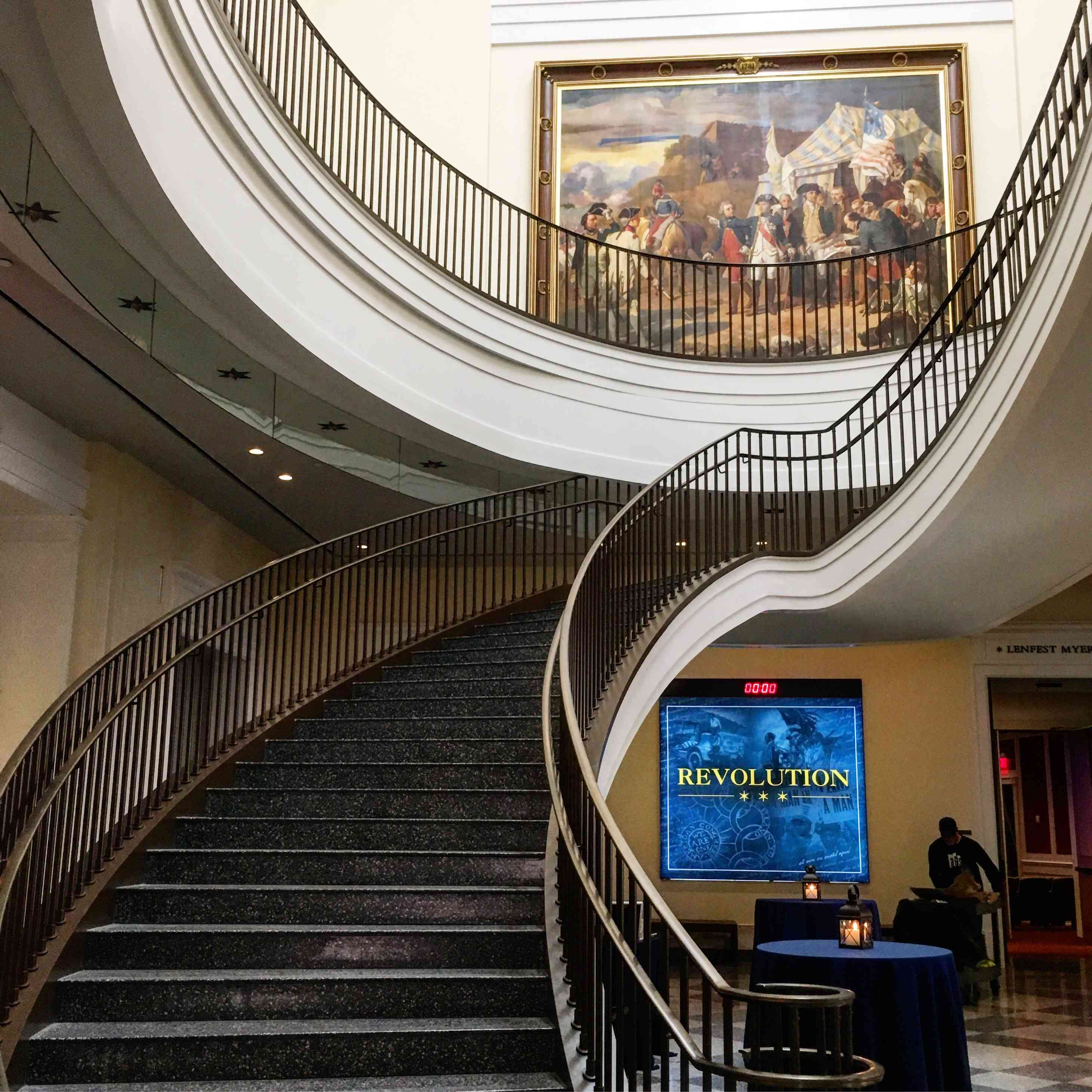 Interior of American Revolution Museum