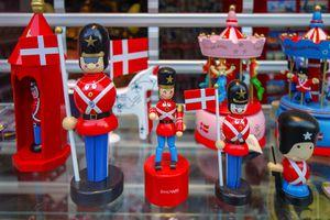 Souvenirs from Copenhagen shop