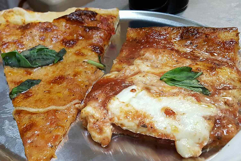 Pizza at Di Fara Pizza in Brooklyn