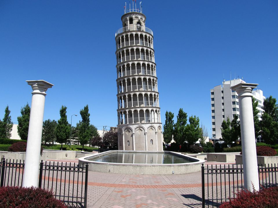 Leaning Tower of Niles, Niles, Illinois
