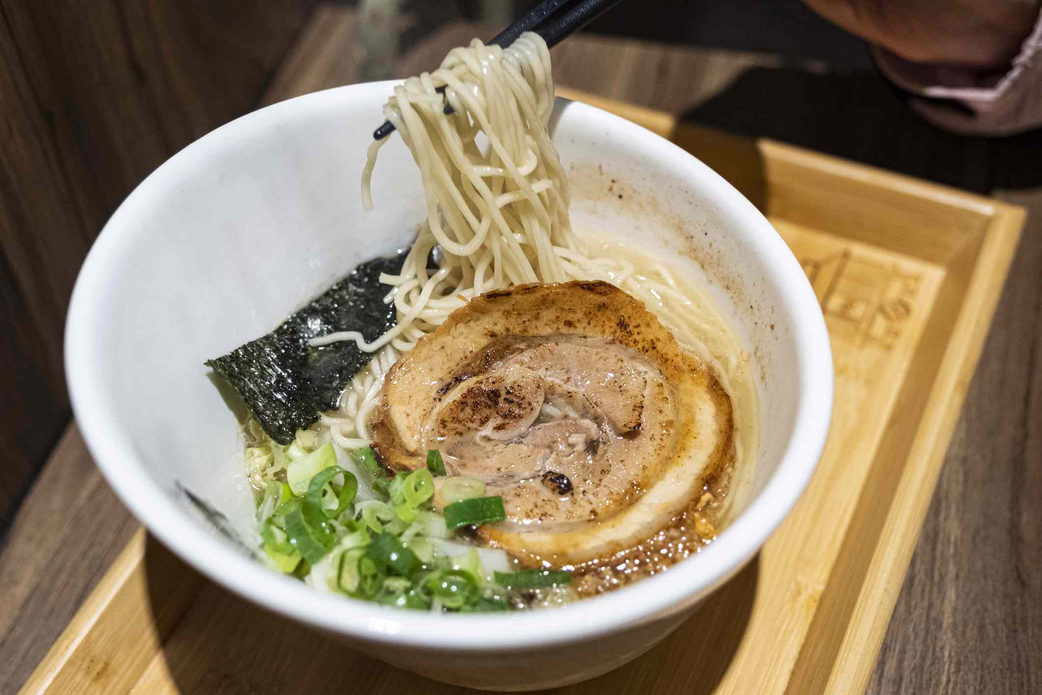 Japanese Onomichi Ramen with toppings