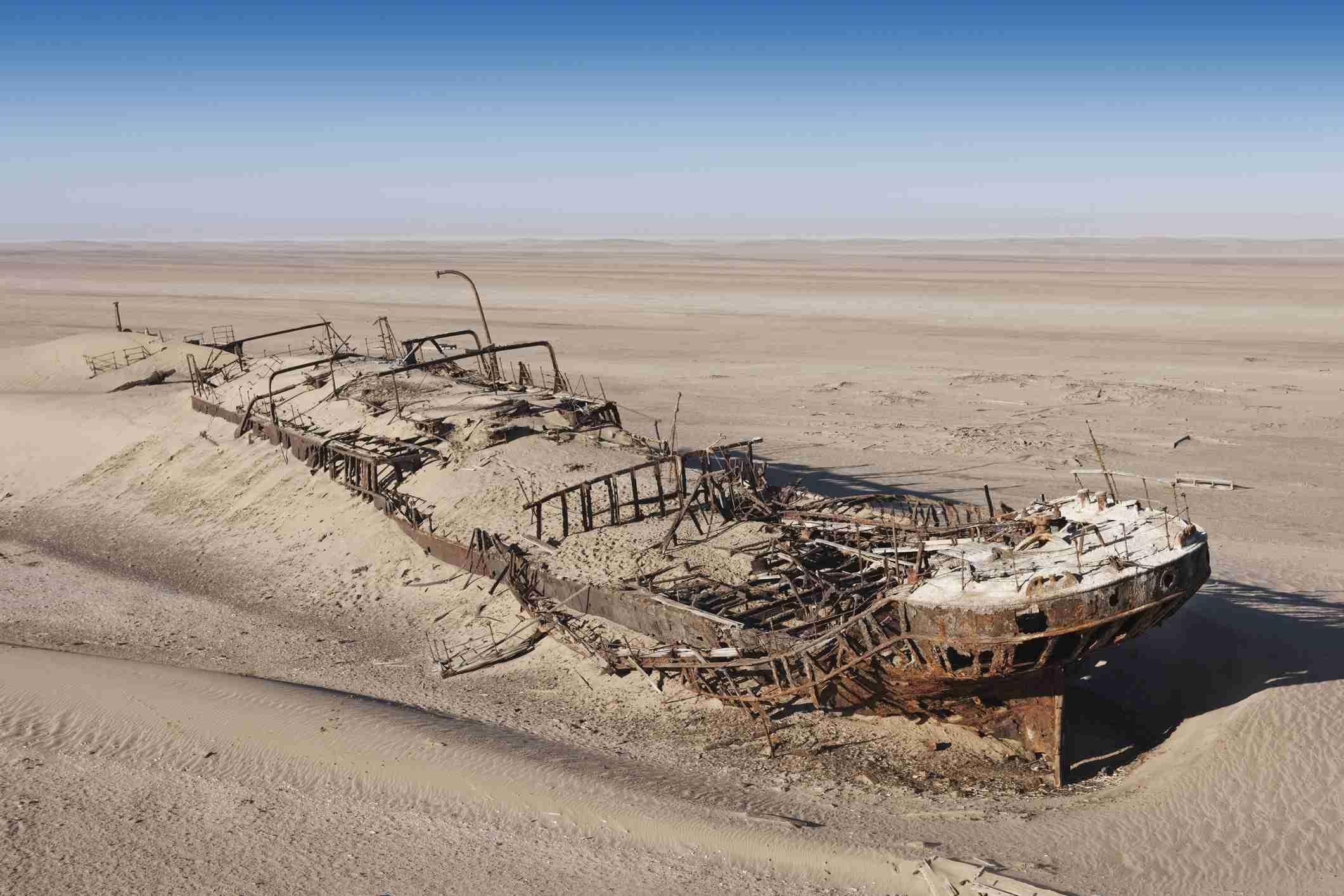 Wreck of the Eduard Bohlen