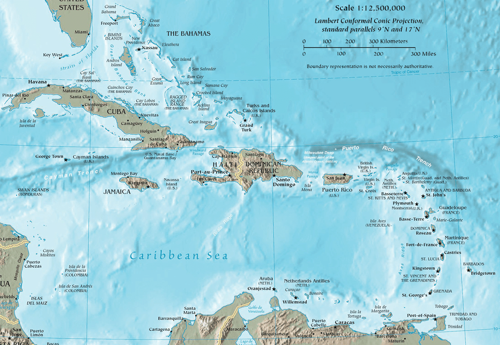 Caribbean Maps Show Where Your Cruise Is Going on