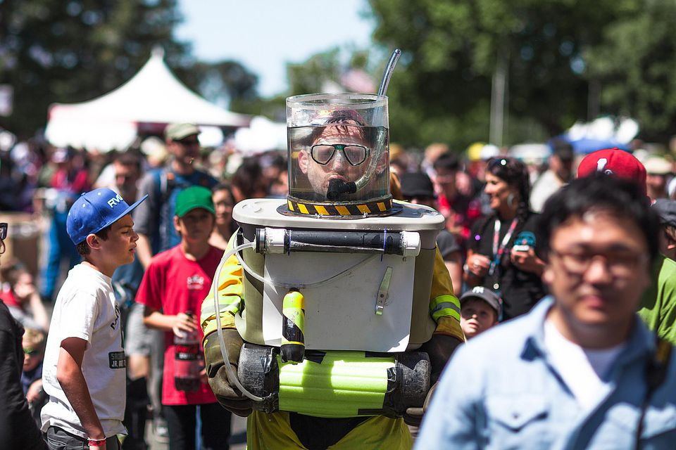 Getting Creative at Maker Faire Bay Area
