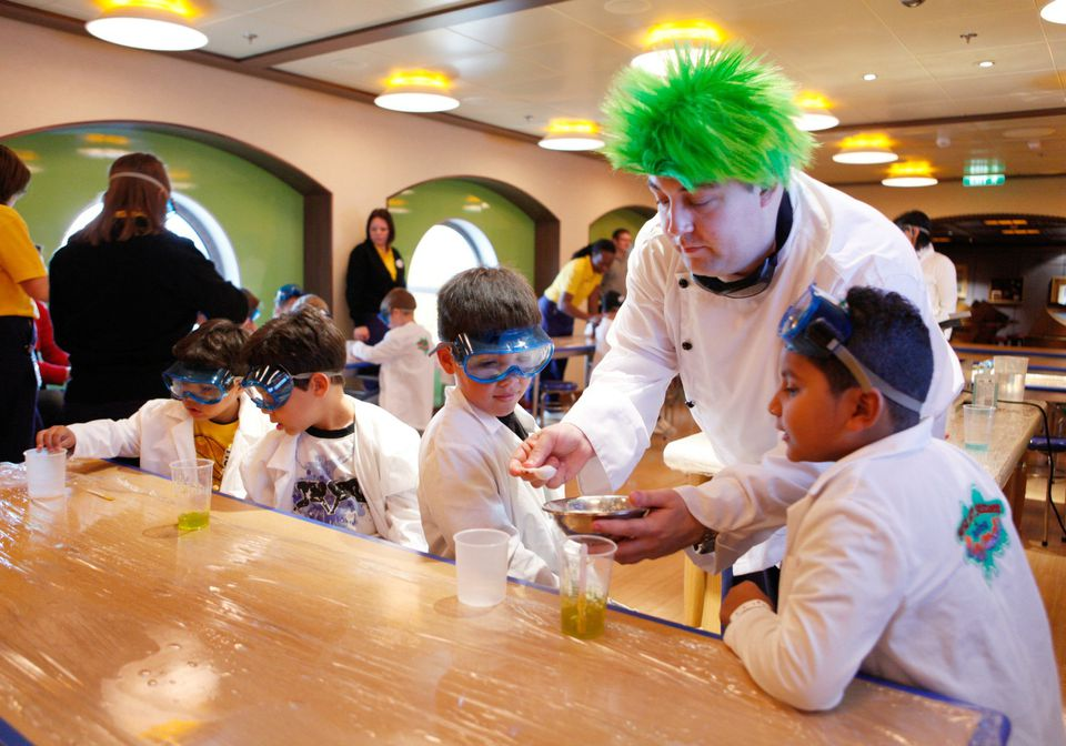 Best kids clubs on cruise ships