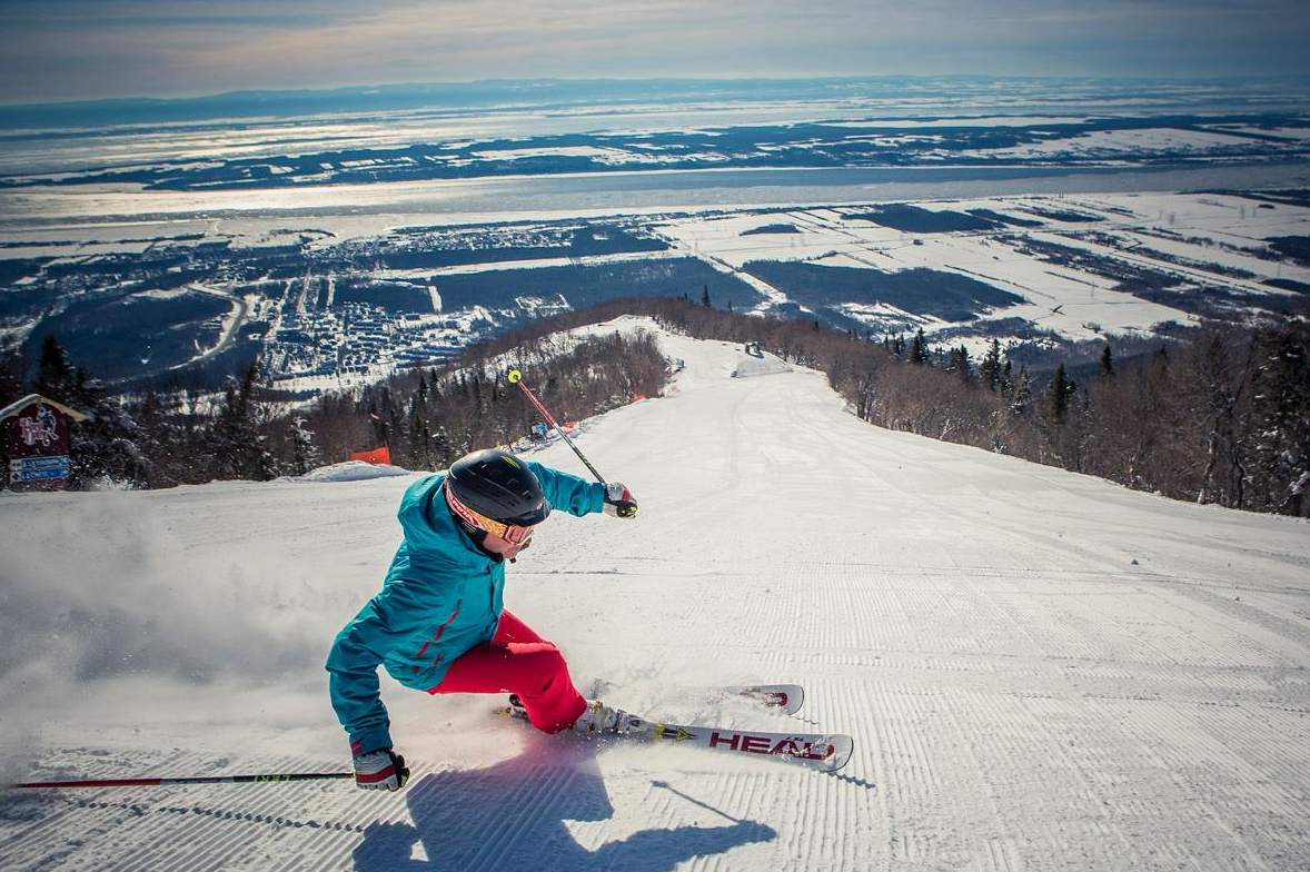 Montreal January 2018 events, attractions, and things to do include downhill skiing.