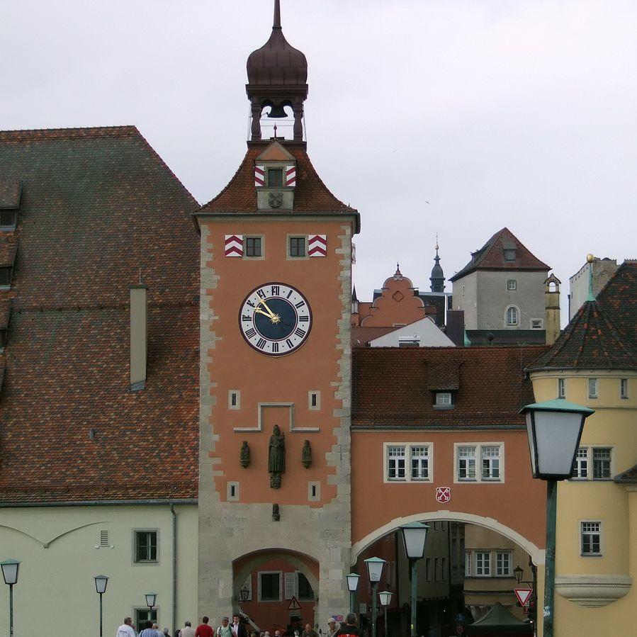 Regensburg Clock Tower