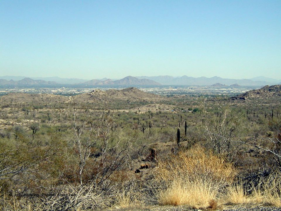 South Mountain Park in Phoenix, AZ
