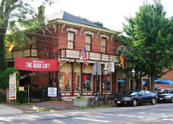 The Book Loft on S. 3rd Street in German Village, Columbus, Ohio.