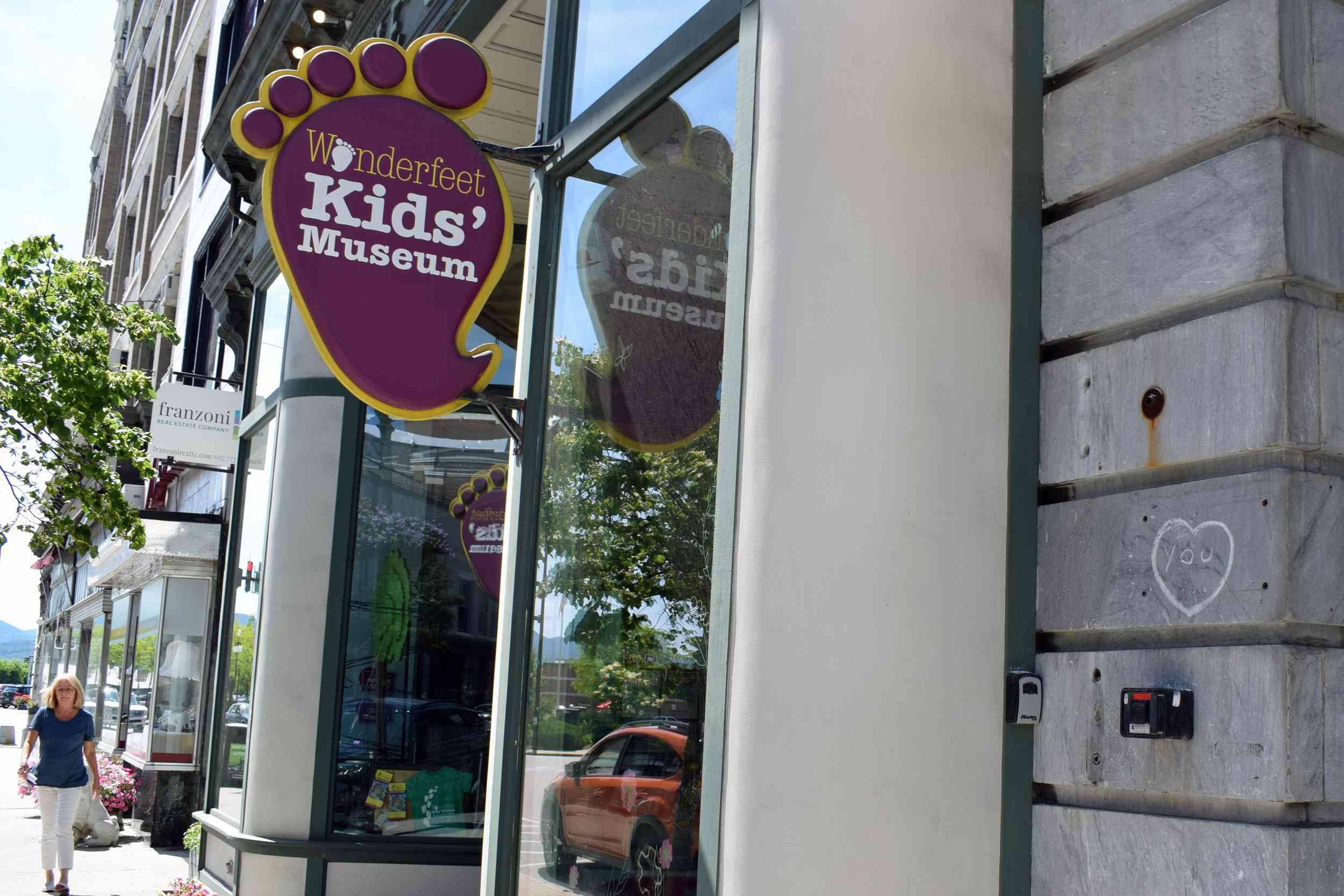 Wonderfeet Kids Museum in Downtown Rutland