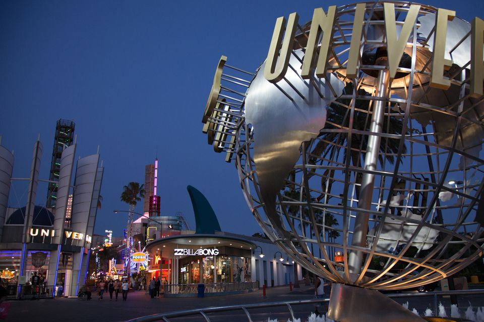 Universal Studios Hollywood Globe At Citywalk