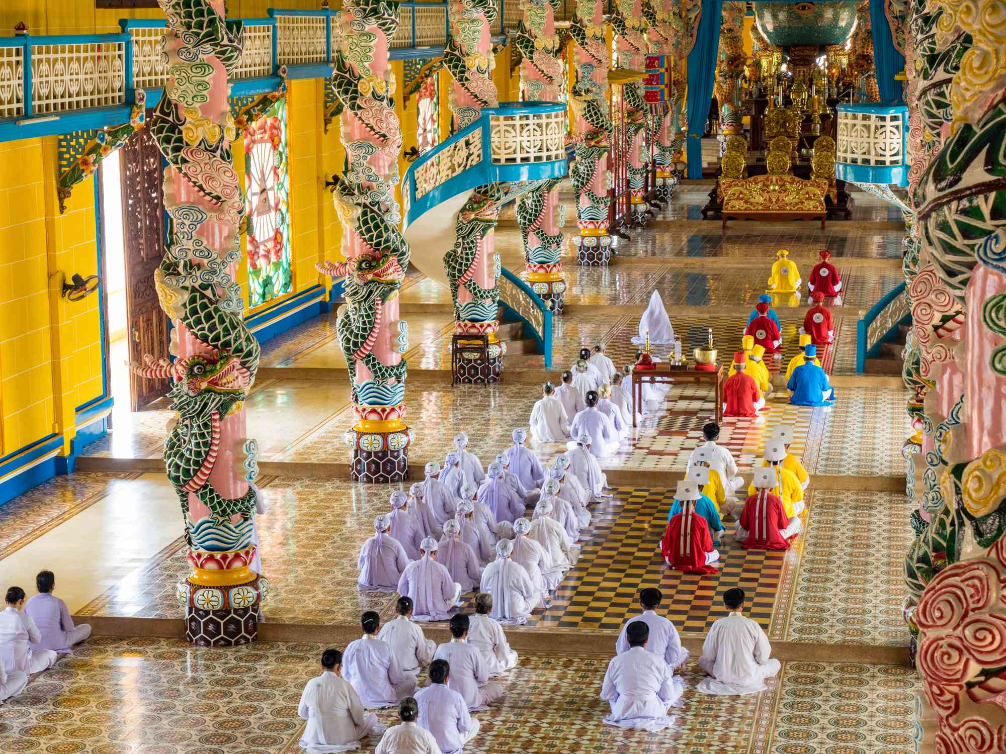 Cao Dai Holy See, Vietnam