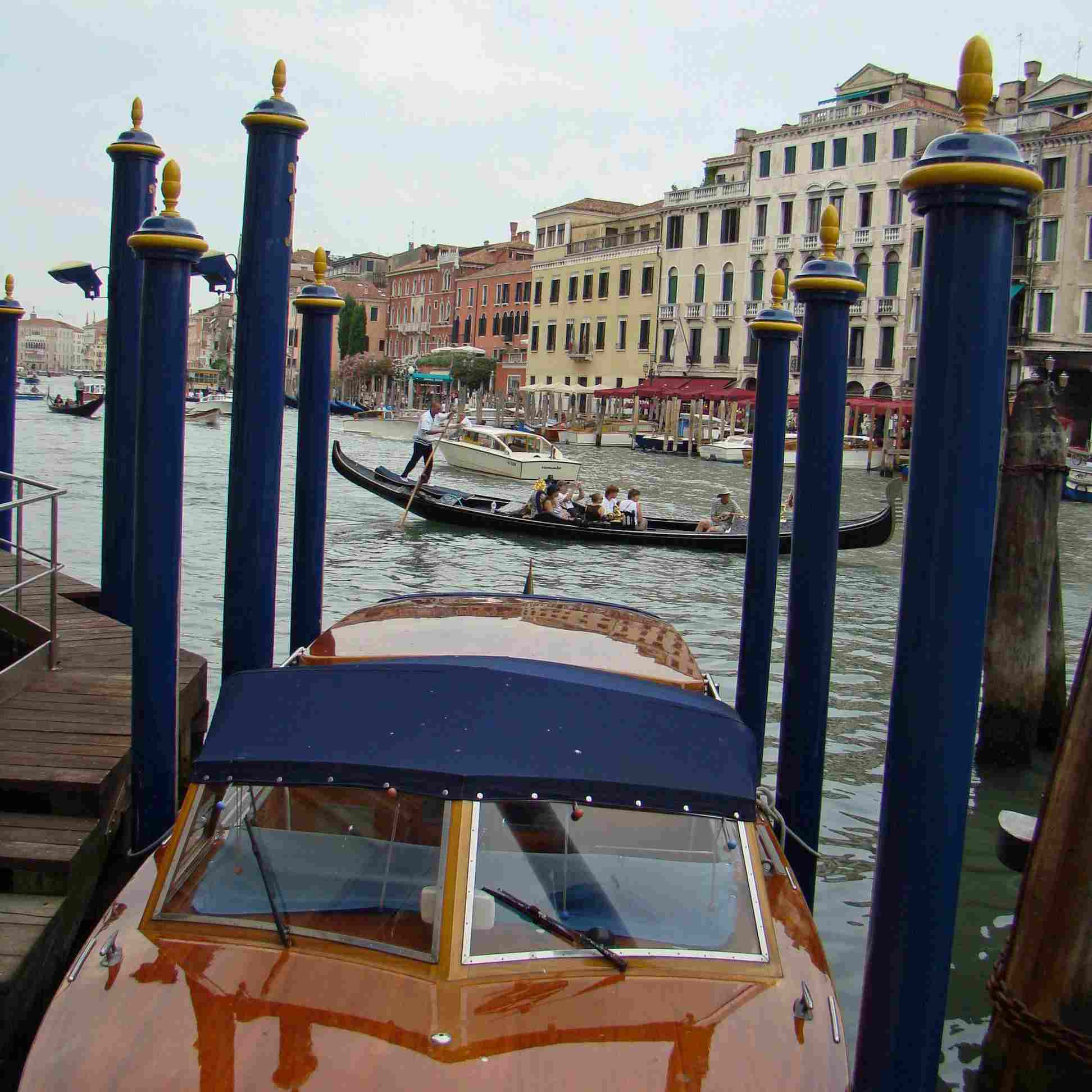 Gondola rides in Venice, Italy are expensive. Bargain carefully.