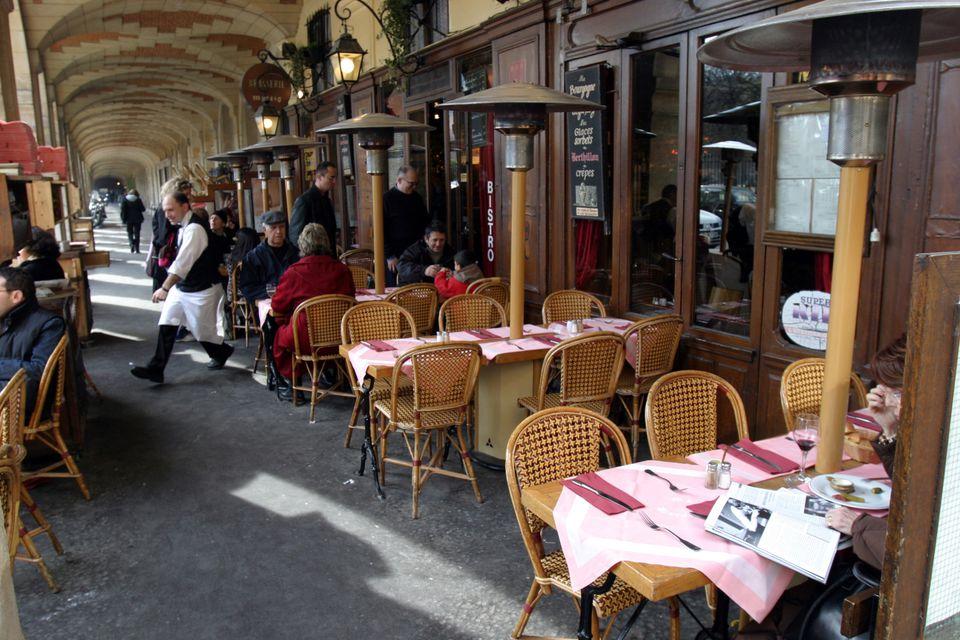 Place des Vosges Terrace