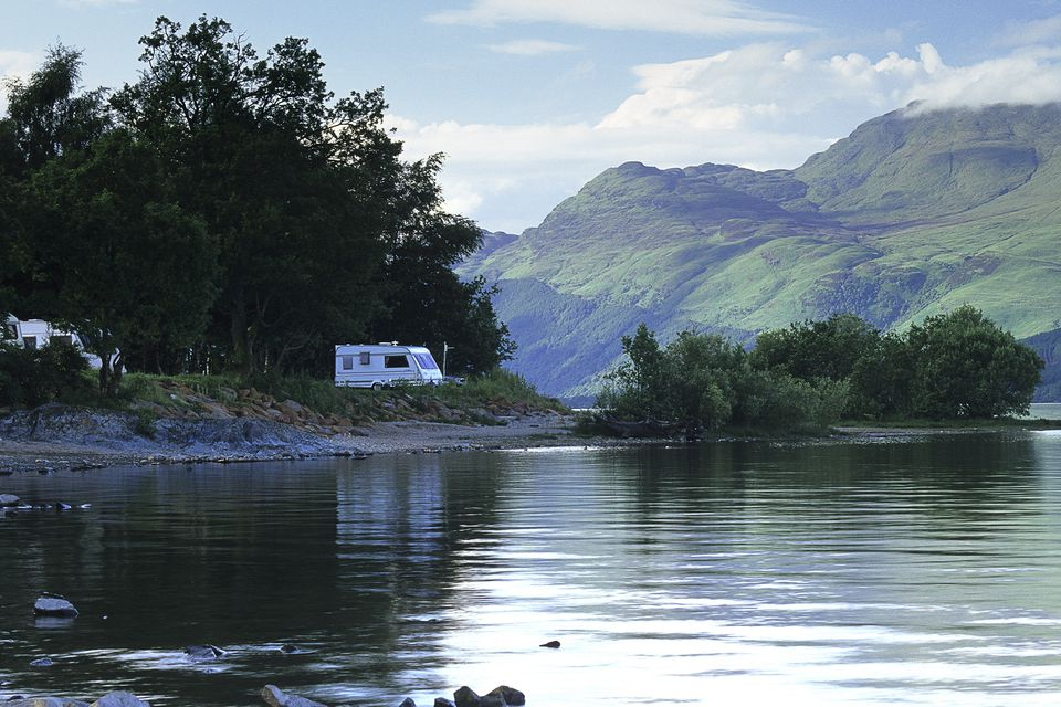 Camping on Loch Lomond