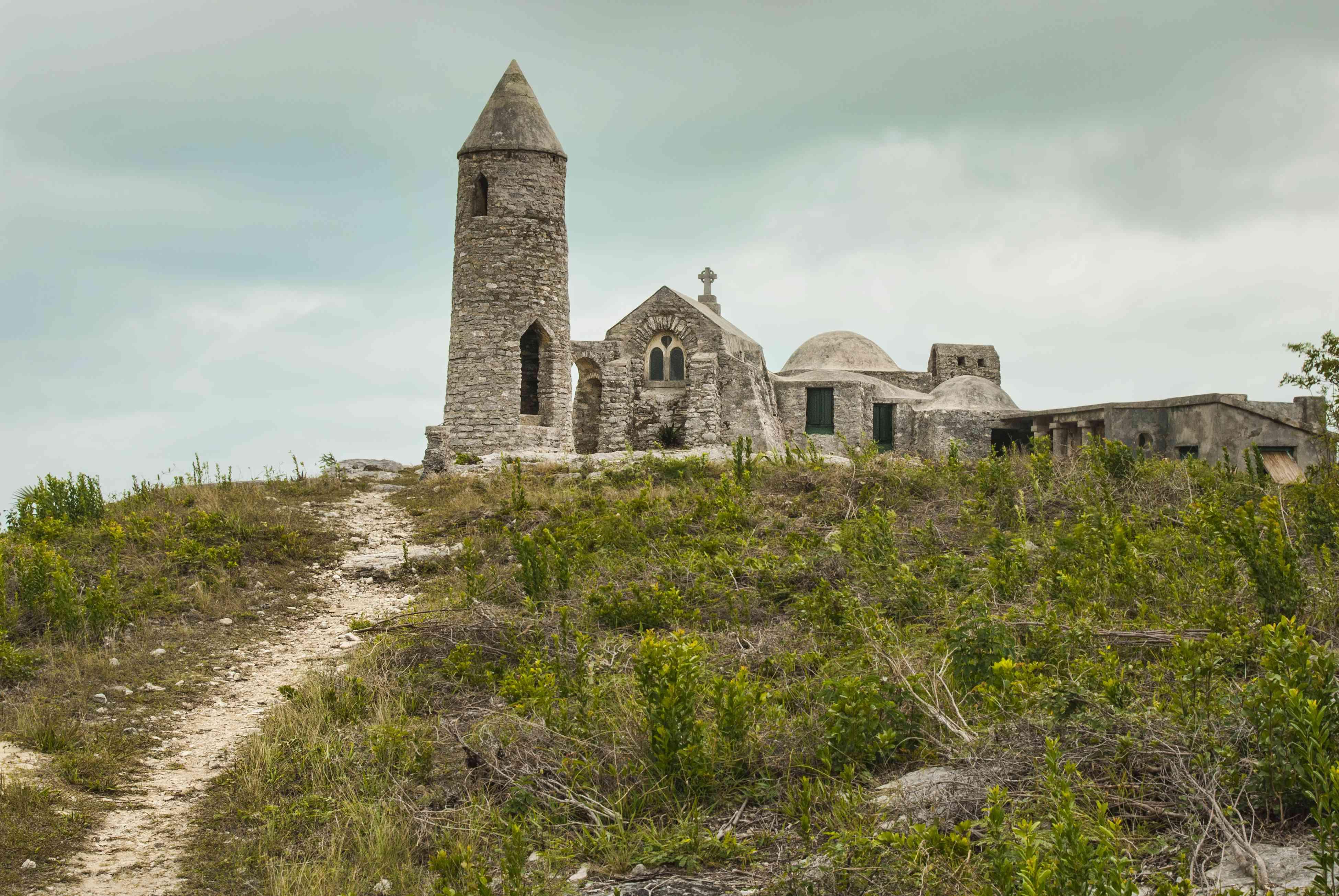 The Hermitage at Mount Alvernia on Cat Island, Bahamas