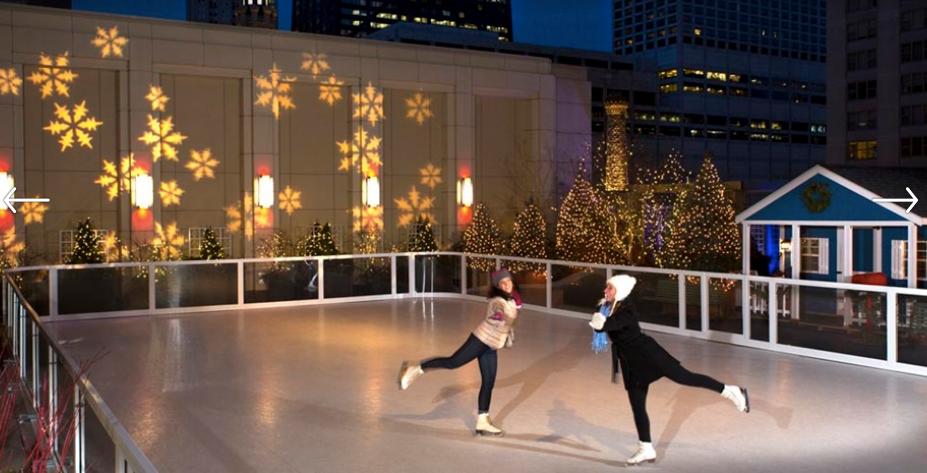Ice Skating at The Peninsula Chicago