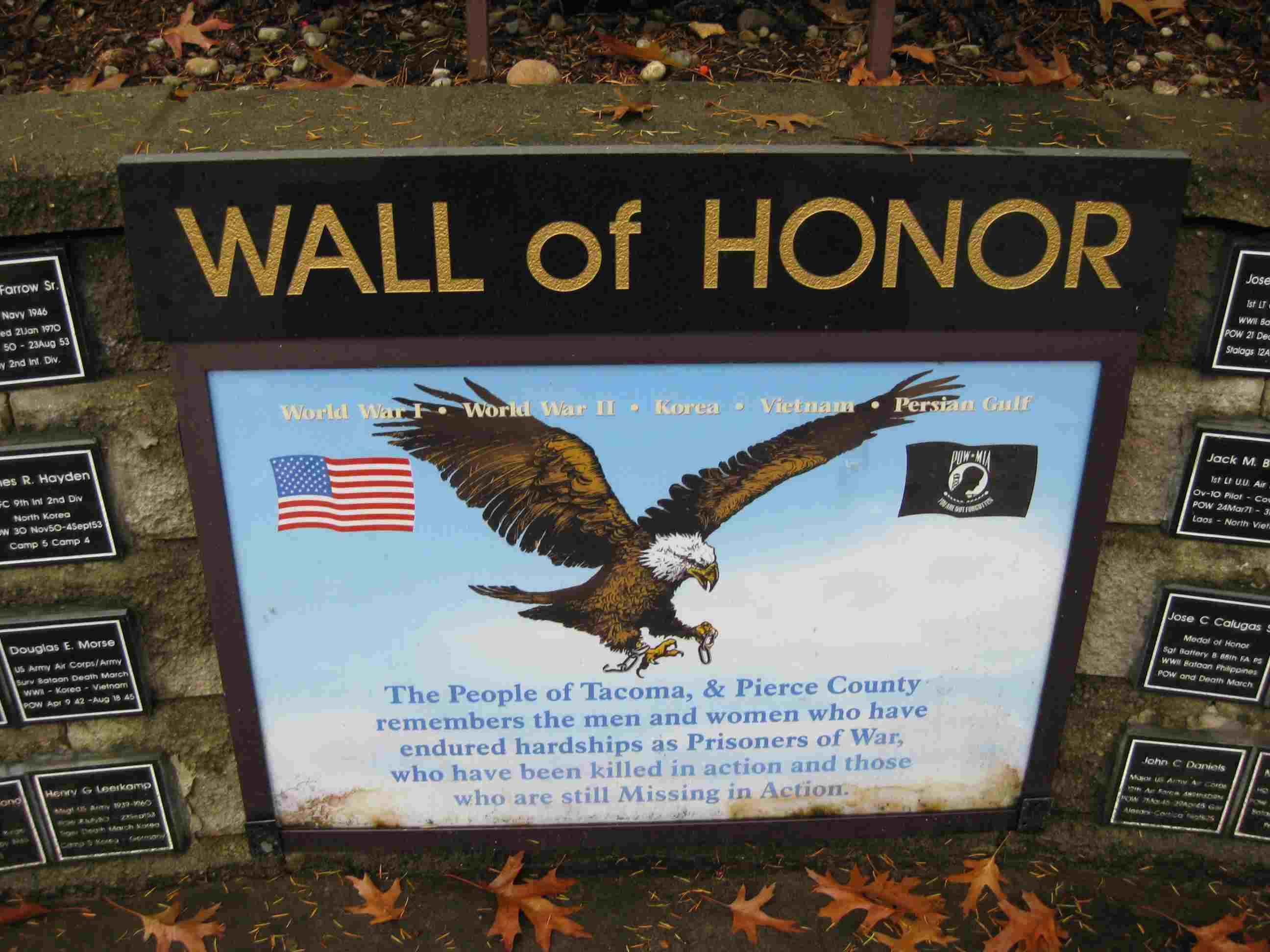 War Memorial Park Tacoma