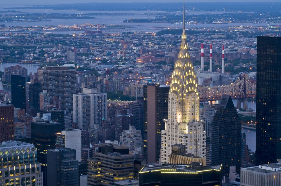Chrysler Building, The 10 Tallest Buildings in NYC