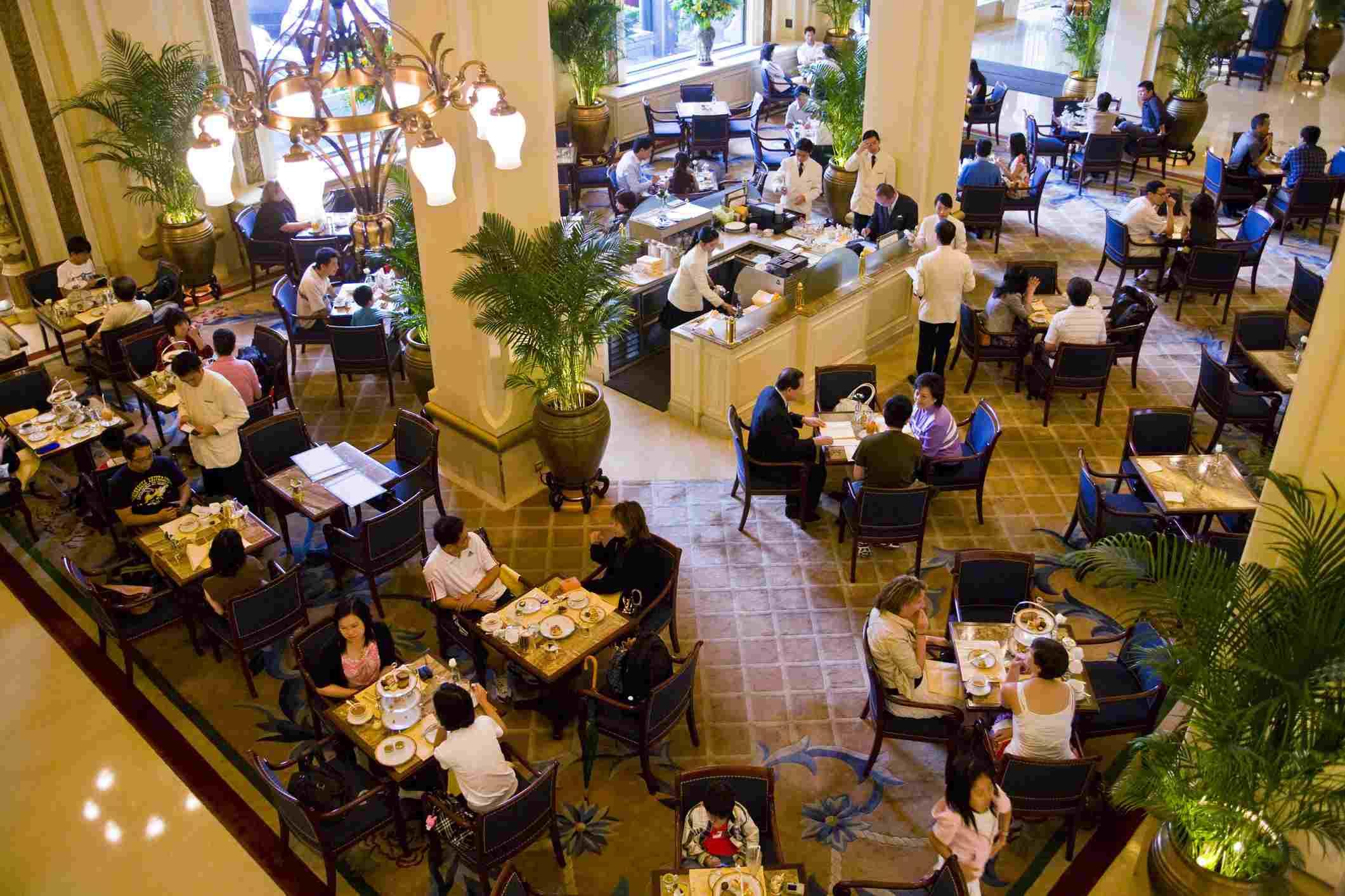 Merienda en The Peninsula Hotel