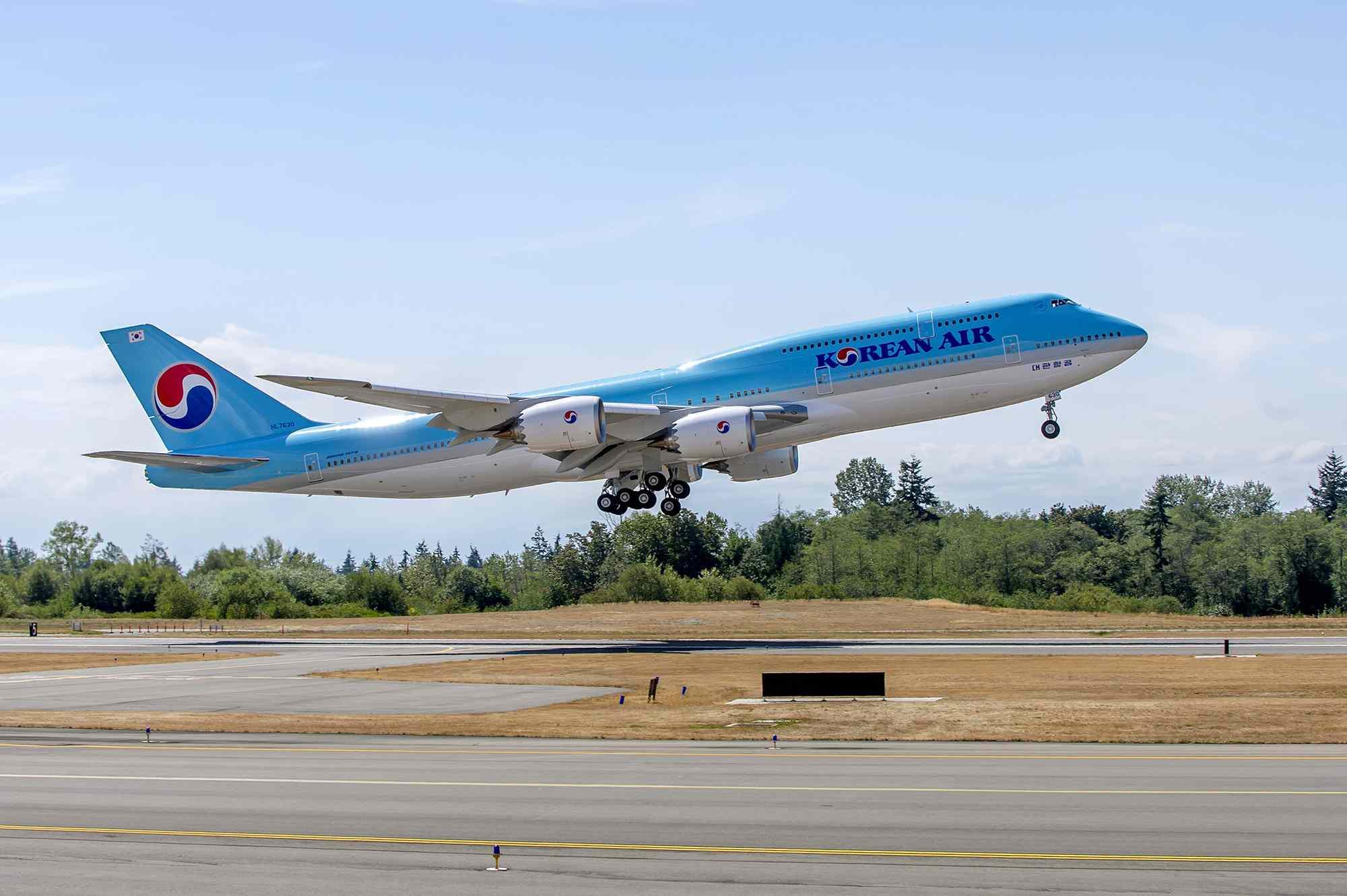 Korean Air B747
