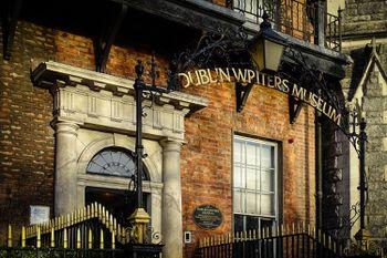 cae05e86ec1cb The Dublin Writers Museum basking in morning sunshine