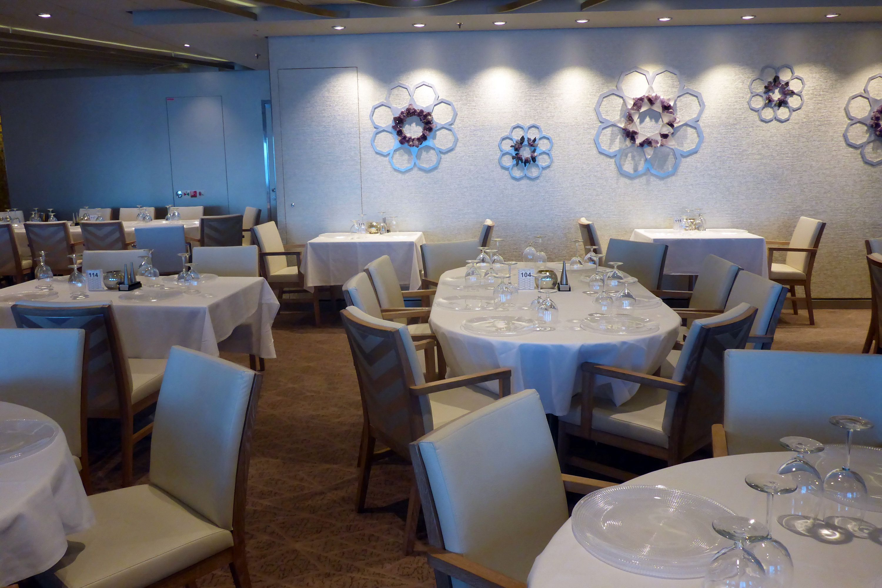 Dining on the Anthem of the Seas Cruise Ship