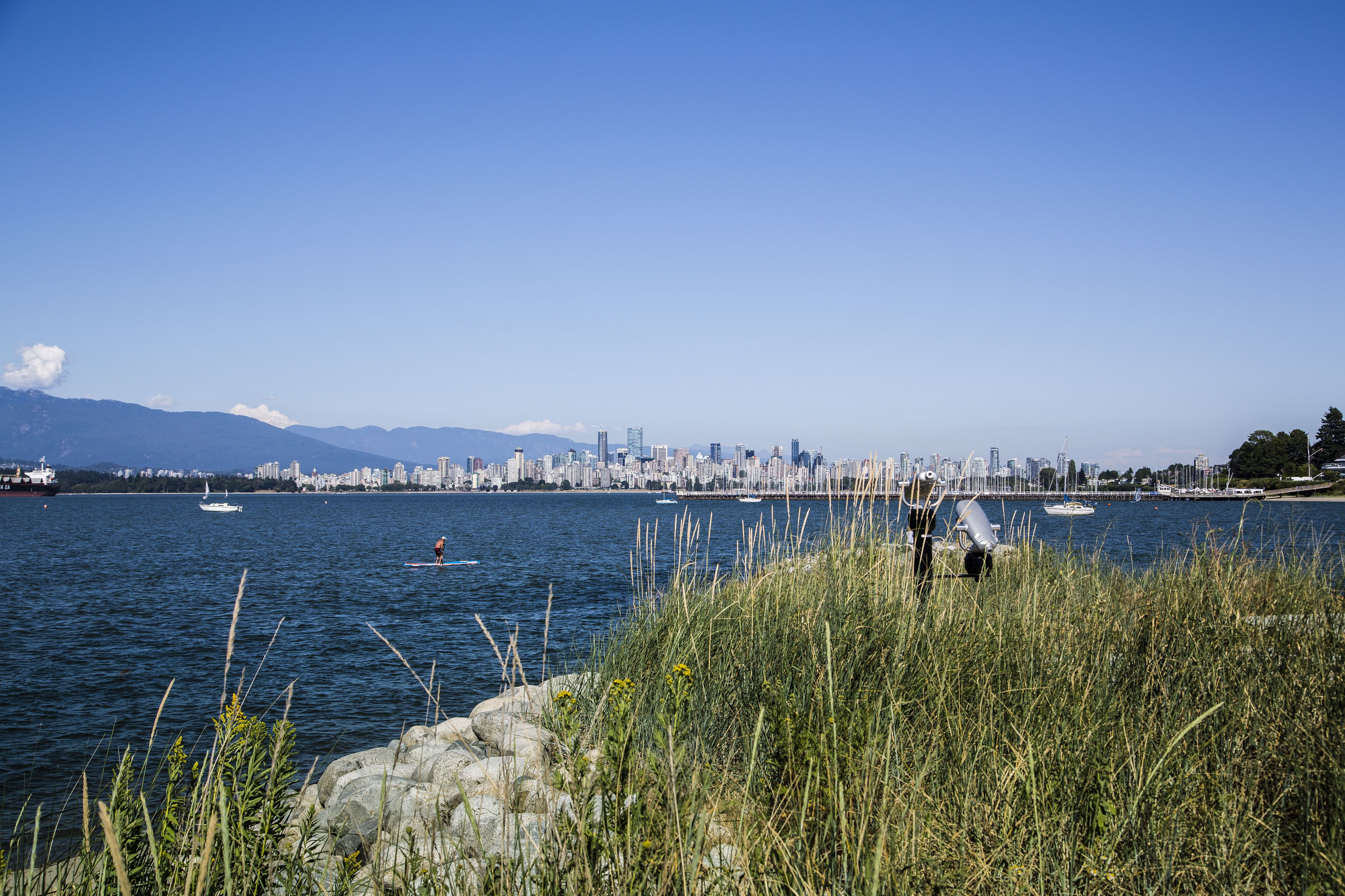 Jericho Beach in Vancouver