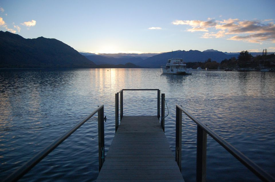 View of Lake Wanaka from Roy's Bay