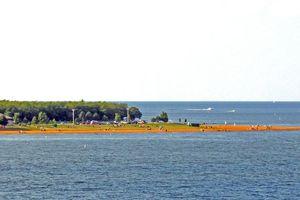 Sandy Point from Bay Bridge