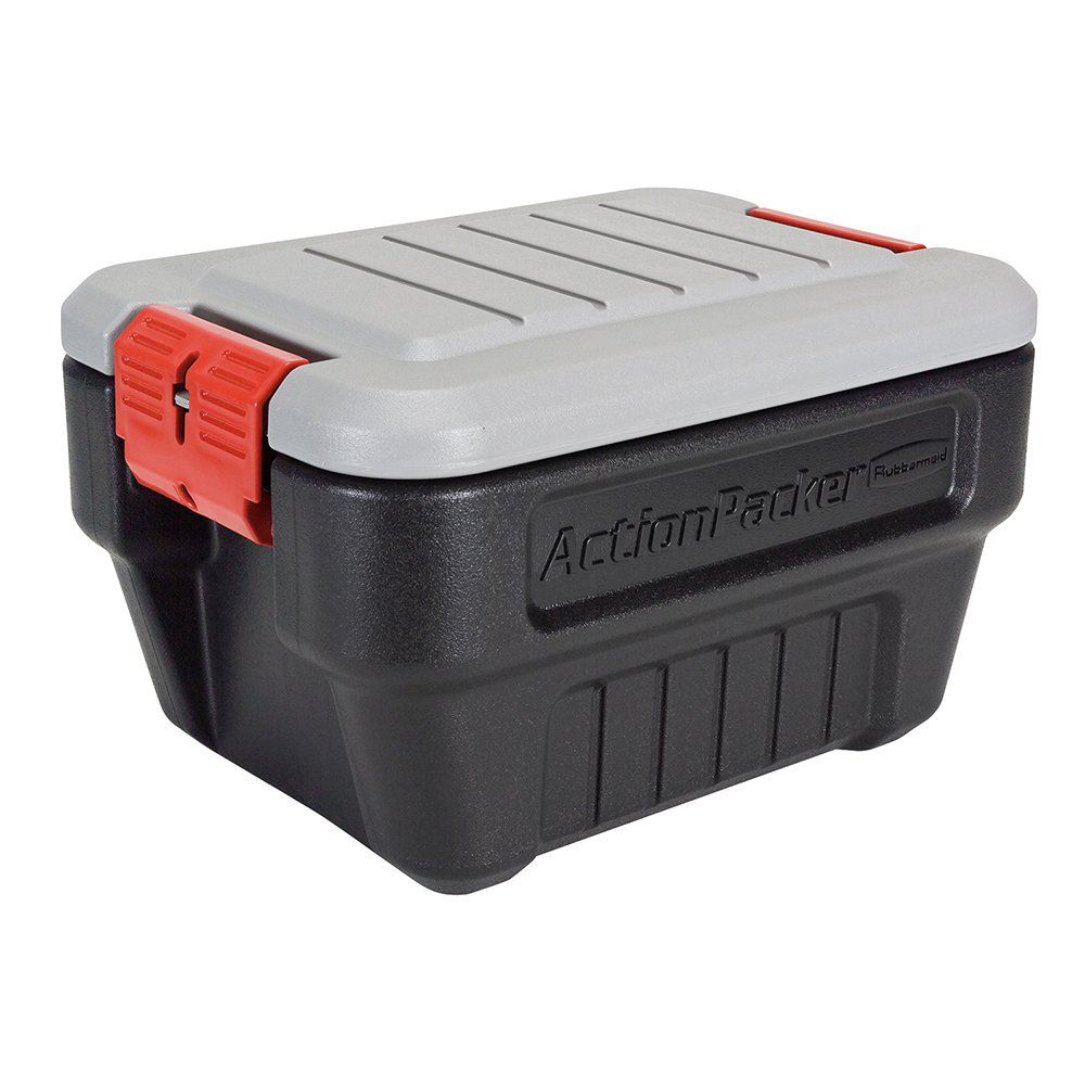 Rubbermaid ActionPacker Lockable Storage Box